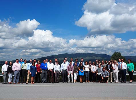 Congressional Staff at Pine Mountain
