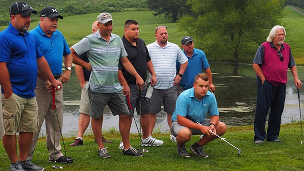 Participants in last year's Golf Classic
