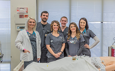 Skctc allied health  students